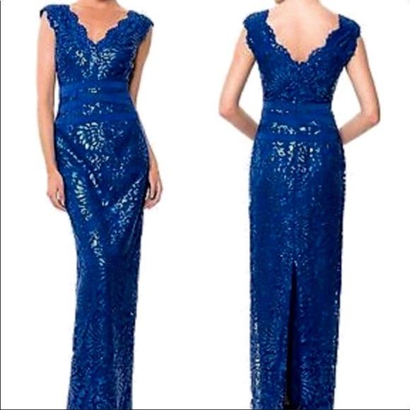 00fa5fa2fc5 New Tadashi Shoji Lapis Gown